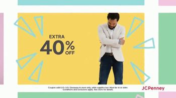 JCPenney Mystery Sale TV Spot, 'Peel and Reveal: 40 Percent' - Thumbnail 4