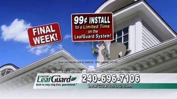 LeafGuard of DC 99 Cent Install Sale TV Spot, 'What's in Your Gutters: $25 Lowe's Gift Card' - Thumbnail 4