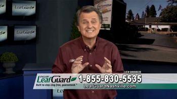 LeafGuard of Nashville Winter Half Off Sale TV Spot, 'Sagging Gutters: Gift Cards'