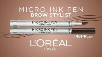 L'Oreal Paris Cosmetics Micro Ink Brow Pen TV Spot, 'Precision Without Commitment' Featuring Camila Cabello - Thumbnail 3