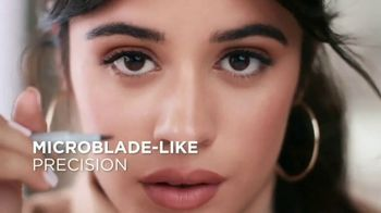 L'Oreal Paris Cosmetics Micro Ink Brow Pen TV Spot, 'Precision Without Commitment' Featuring Camila Cabello - Thumbnail 4