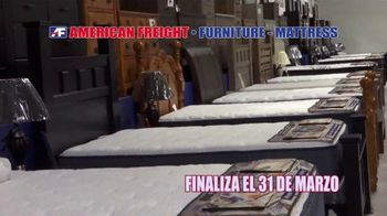 American Freight Gran Venta de Reembolso de Impuestos TV Spot, 'Juegos de colchones' [Spanish] - Thumbnail 6