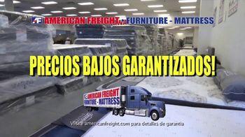 American Freight Gran Venta de Reembolso de Impuestos TV Spot, 'Juegos de colchones' [Spanish] - Thumbnail 2