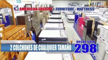 American Freight Gran Venta de Reembolso de Impuestos TV Spot, 'Juegos de colchones' [Spanish] - Thumbnail 5
