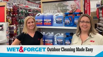 ACE Hardware TV Spot, 'Spring Cleaning: Wet & Forget' - Thumbnail 3