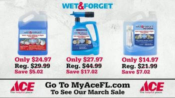 ACE Hardware TV Spot, 'Spring Cleaning: Wet & Forget' - Thumbnail 8