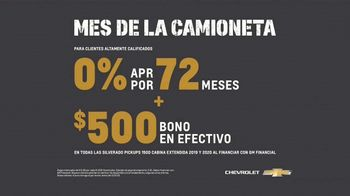 Chevrolet Mes de la Camioneta TV Spot, 'La nueva Silverado' [Spanish] [T2] - Thumbnail 8