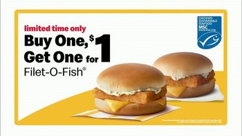 McDonald's Buy One, Get One for $1 TV Spot, 'Give Me Back that Filet-O-Fish' - Thumbnail 8