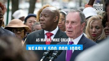 Mike Bloomberg 2020 TV Spot, 'Mike's Plan: 20,000 Jobs' - Thumbnail 4