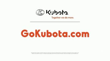 Kubota BX Series TV Spot, 'Smooth and Simple' - Thumbnail 9