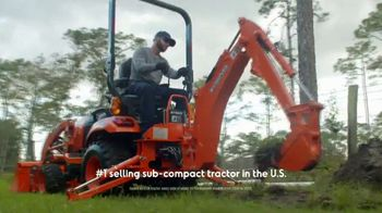 Kubota BX Series TV Spot, \'Smooth and Simple\'
