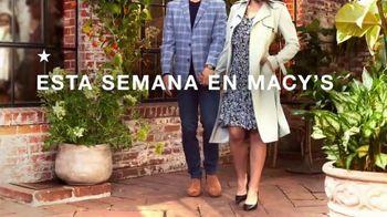 Macy's TV Spot, 'Se siente como primavera' [Spanish] - Thumbnail 1