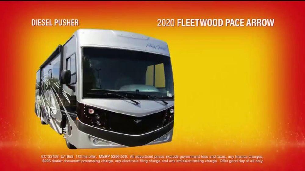 La Mesa RV Fiesta of Savings TV Commercial, '2020 Fleetwood Pace Arrow'