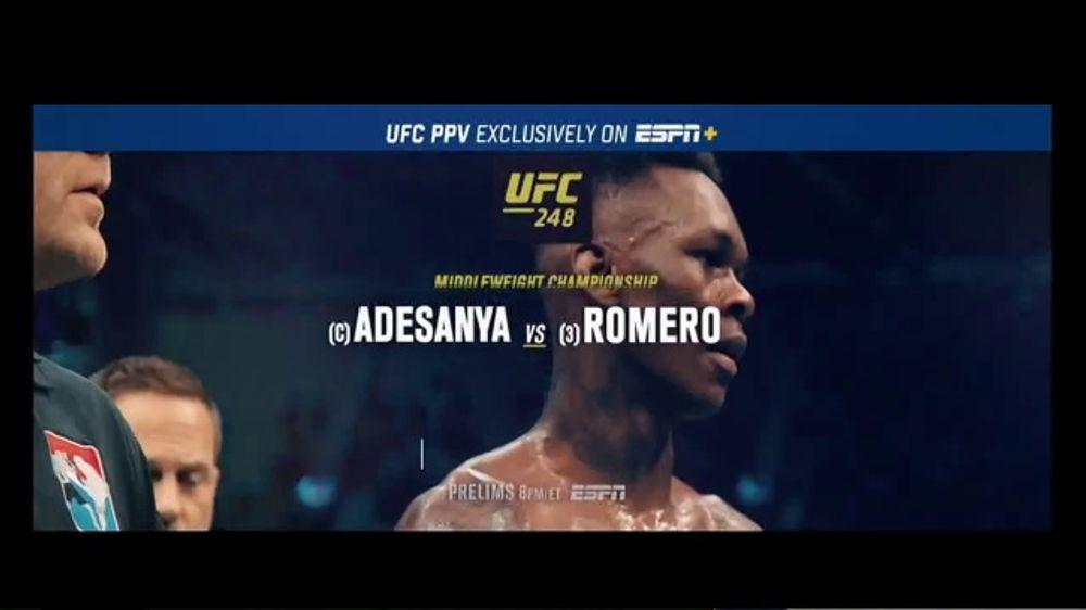 ESPN+ TV Commercial, 'UFC 248: Adesanya vs. Romero' Song by Eminem
