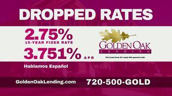 Golden Oak Lending TV Spot, 'Dropped Rates' - Thumbnail 2