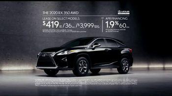 2020 Lexus RX TV Spot, 'Fearless Leader' [T2] - Thumbnail 7