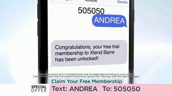 Xtend Barre TV Spot, 'Unlimited Classes' - Thumbnail 5