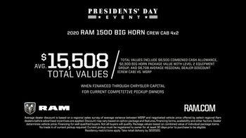 Ram Trucks Presidents Day Event TV Spot, 'Built to Serve' [T2] - Thumbnail 5