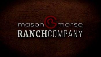 Mason Morse Ranch Company TV Spot, 'We Live It to Know It: Robb Van Pelt' - Thumbnail 1