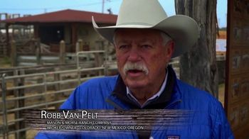 Mason Morse Ranch Company TV Spot, 'We Live It to Know It: Robb Van Pelt' - Thumbnail 2