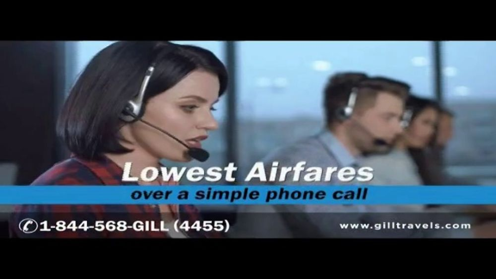 Gill International Travel Inc TV Commercial, 'Fly More'