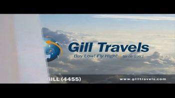 Gill International Travel Inc TV Spot, 'Fly More'