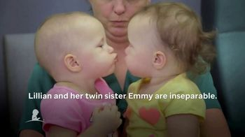 St. Jude Children's Research Hospital TV Spot, 'Lillian and Emmy' - Thumbnail 3