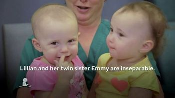 St. Jude Children's Research Hospital TV Spot, 'Lillian and Emmy' - Thumbnail 4
