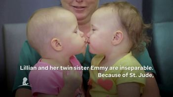 St. Jude Children's Research Hospital TV Spot, 'Lillian and Emmy' - Thumbnail 5