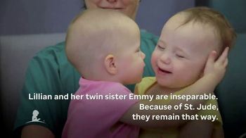 St. Jude Children's Research Hospital TV Spot, 'Lillian and Emmy' - Thumbnail 6