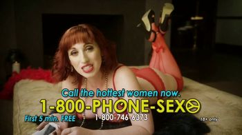1-800-PHONE-SEXY TV Spot, 'It's So Cold'