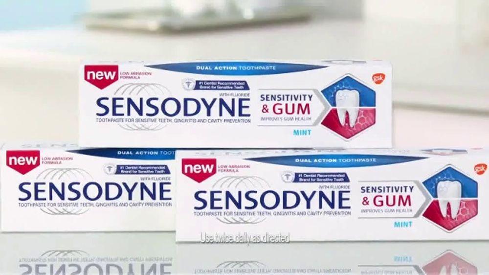 Sensodyne Sensitivity & Gum TV Commercial, 'Dual Action Effect'