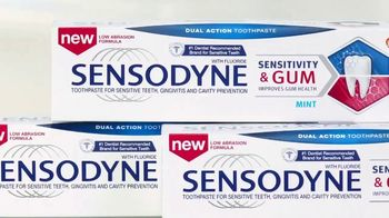 Sensodyne Sensitivity & Gum TV Spot, 'Dual Action Effect' - Thumbnail 5