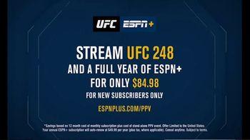 ESPN+ TV Spot, 'UFC 248: Two Title Fights: Adesanya vs. Romero and Zhang vs. Joanna' - Thumbnail 6