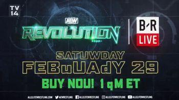 Bleacher Report Live TV Spot, 'AEW: Revolution' - Thumbnail 8
