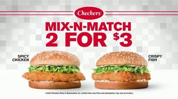 Checkers & Rally's Mix-N-Match 2 for $3 TV Spot, 'Switch It Up' - Thumbnail 9