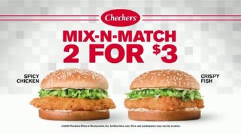 Checkers & Rally's Mix-N-Match 2 for $3 TV Spot, 'Switch It Up' - Thumbnail 2