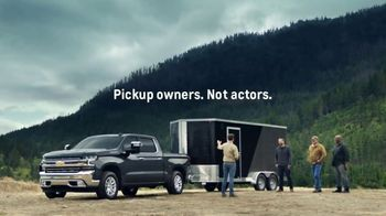 2020 Chevrolet Silverado TV Spot, 'Invisible Trailer' [T2]