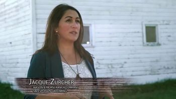 Mason Morse Ranch Company TV Spot, 'We Live It to Know It: Jackie Zurcher' - Thumbnail 3