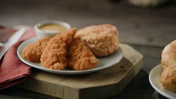 Bojangles' 3-Piece Chicken Supremes Snack and 2-Piece Dinner TV Spot, 'Two Birds With One Stone' - Thumbnail 3