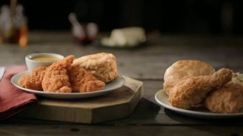 Bojangles' 3-Piece Chicken Supremes Snack and 2-Piece Dinner TV Spot, 'Two Birds With One Stone' - Thumbnail 4