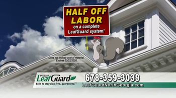 LeafGuard of North Georgia Winter Half Off Sale TV Spot, 'Hanging Out: Gift Cards' - Thumbnail 5