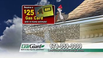 LeafGuard of North Georgia Winter Half Off Sale TV Spot, 'Hanging Out: Gift Cards' - Thumbnail 6