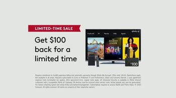 XFINITY Limited-Time Sale TV Spot, 'Services Right for You: $100 Back' - Thumbnail 9