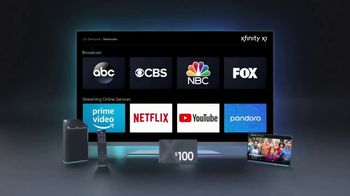 XFINITY Limited-Time Sale TV Spot, 'Services Right for You: $100 Back' - Thumbnail 7