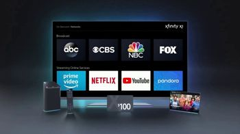XFINITY Limited-Time Sale TV Spot, 'Services Right for You: $100 Back' - Thumbnail 8
