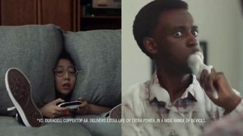 DURACELL Optimum TV Spot, 'Gamer x Toothbrush'