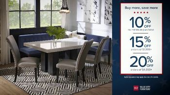 Value City Furniture Buy More Save More Sale TV Spot, 'No Credit Needed' - Thumbnail 2
