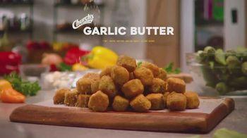 Church's Chicken Garlic Butter Shrimp & Tenders Platter TV Spot, 'Garlic Butter Everything' - Thumbnail 4