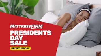 Mattress Firm Presidents Day Sale TV Spot, 'Save Up to $600: Free Adjustable Base''